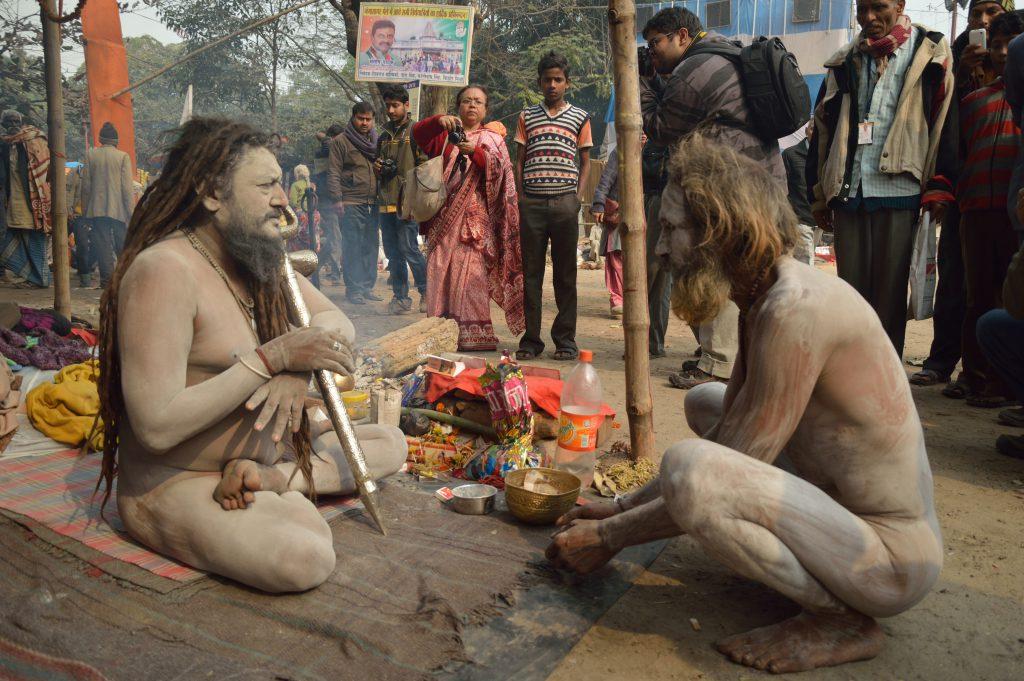 The Hindu Naga or Naked or Digambara or sky-clad Sadhu -by Biswarup Ganguly - CC BY 3.0