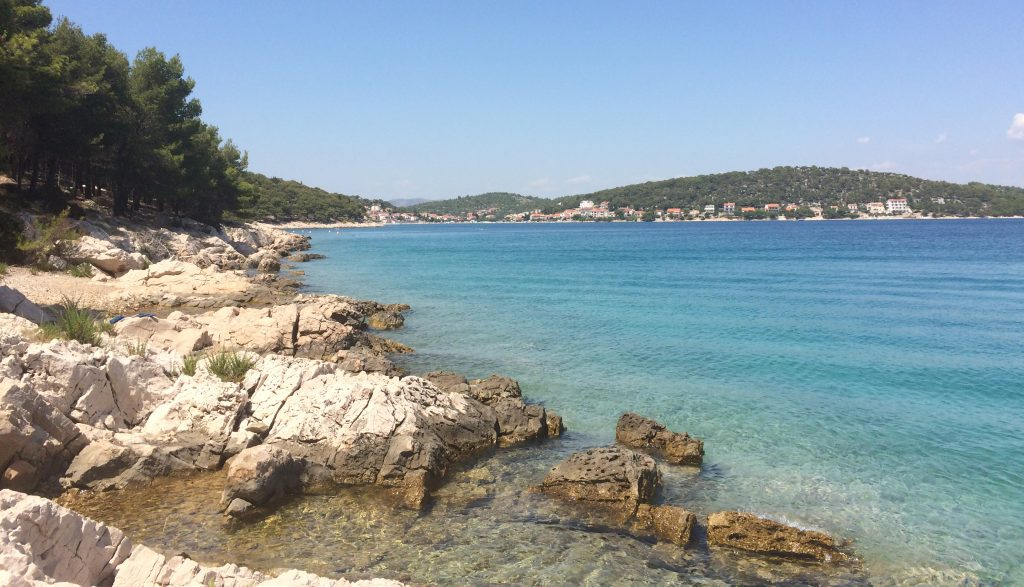 Nudism on Murter island, Croatia