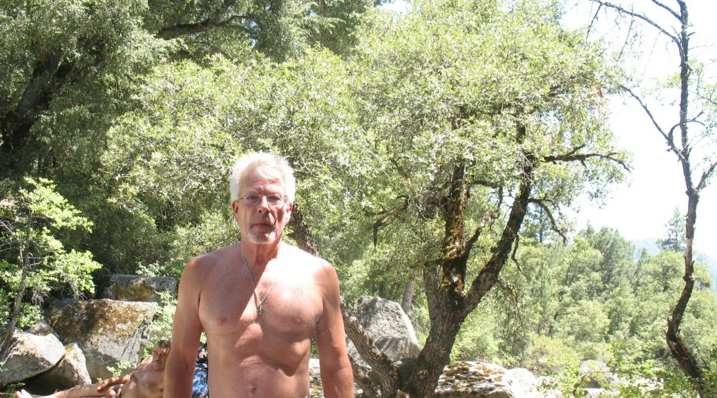 Nudist George from the USA