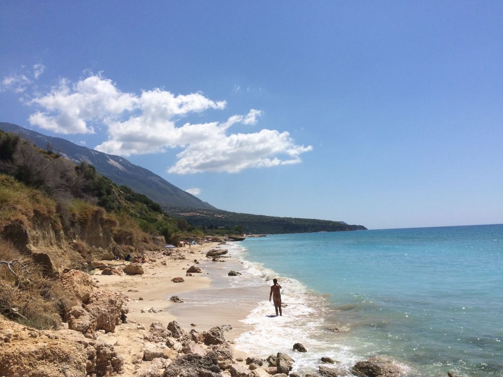 Naturism in Kefalonia, Greece
