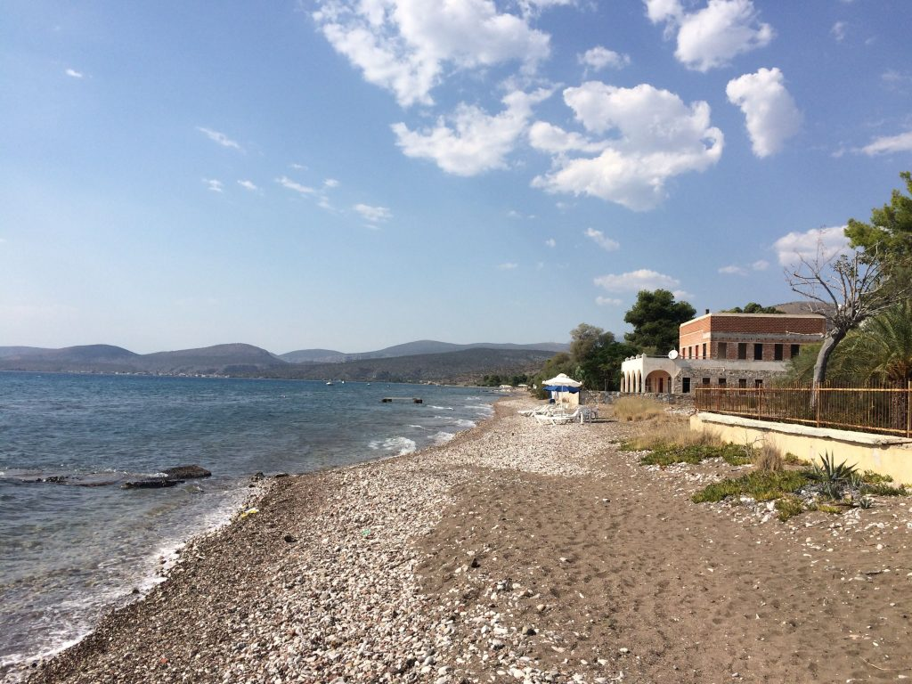 Nudism and naturism in Nafplio, Greece