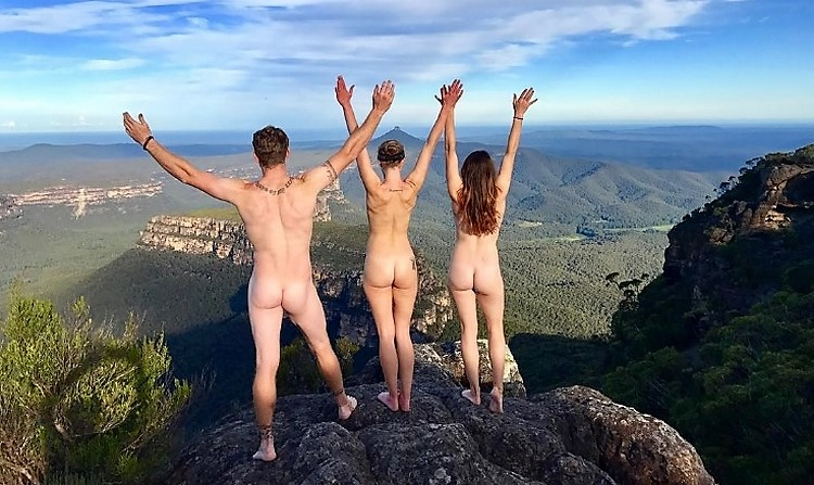 naked wanderings naturist talks