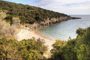 Naked travels naturist traveling in Messinia, Greece