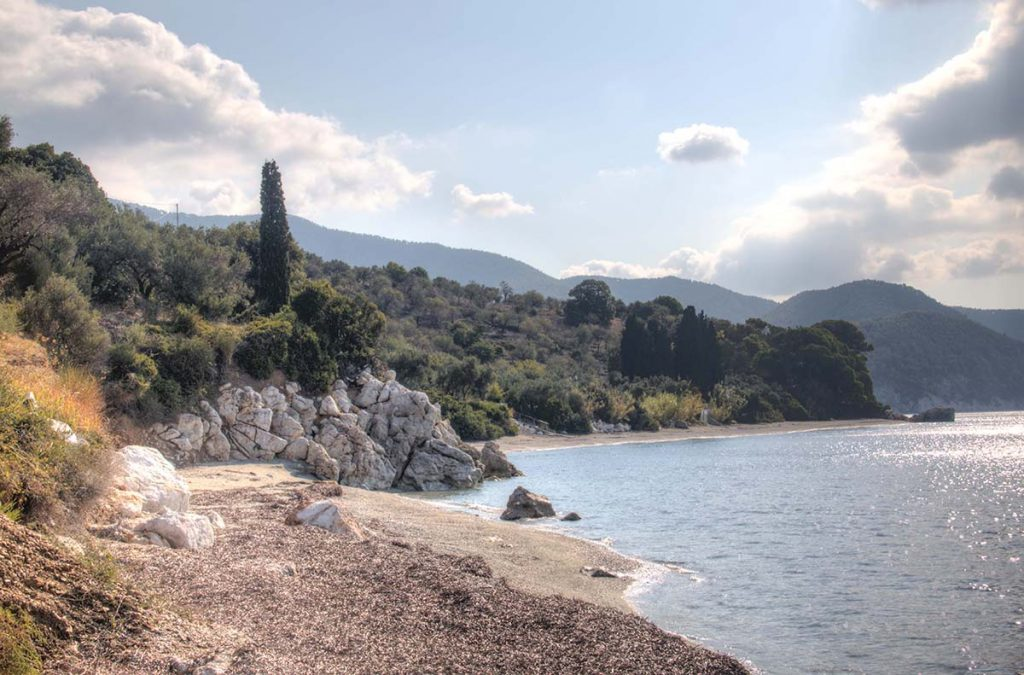 Naturism and nudism in Skopelos, Greece