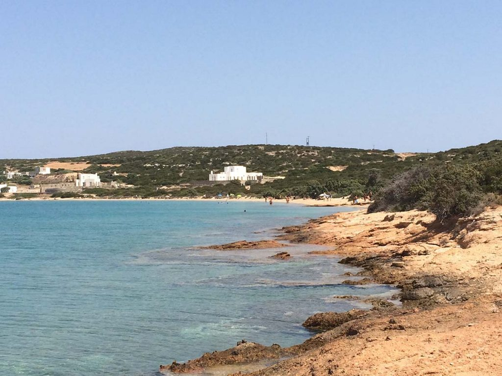 naturism and nudism on paros island