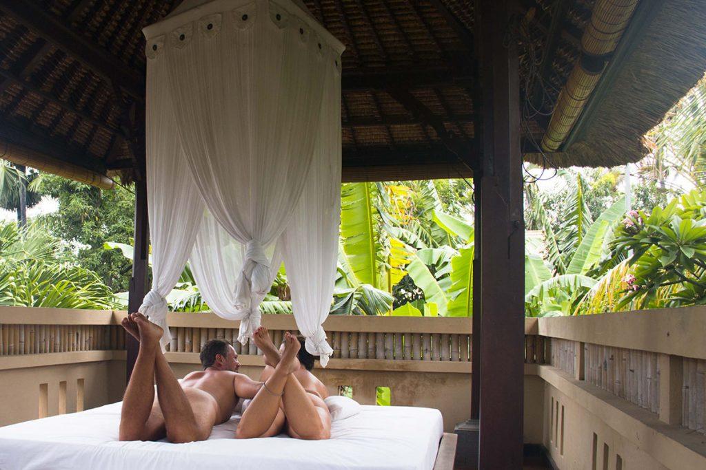 Review of Amertha Bali Villas in Pemuteran: Like nudist villas in a textile resort