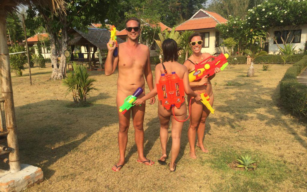 Nude Water Games: Celebrating the Thai Songkran