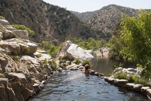 Naked Wanderings at Deep Creek Hot Springs in California, USA