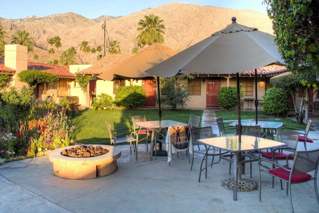 The Terra Cotta Nudist resort and spa in Palm Springs, California