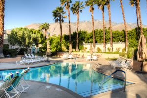 Desert Sun clothing optional nudist resort in Palm Springs, California