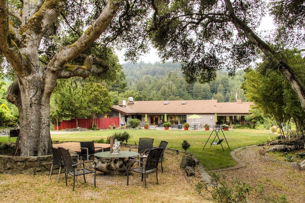 Lupin Lodge nudist and naturist resort in California near San Francisco