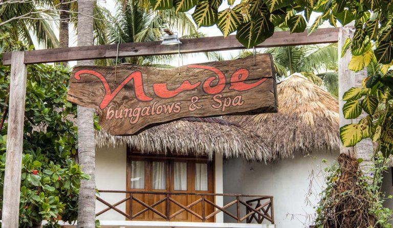 Hotel Nude in Zipolite, Mexico
