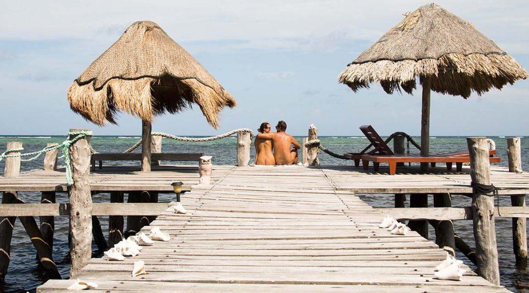 Playa Sonrisa in Xcalak, Quintana Roo, Mexico