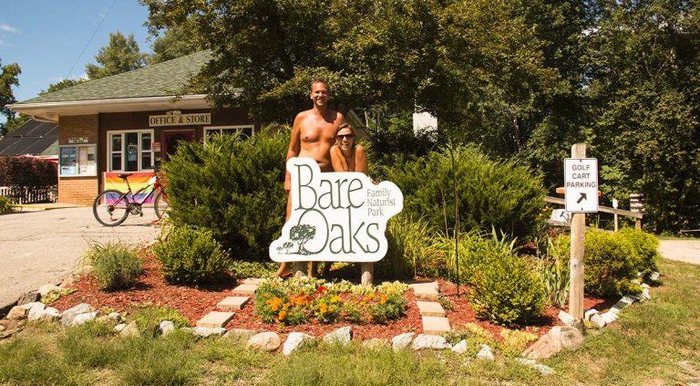 Bare Oaks Family Naturist Park near Toronto, Canada