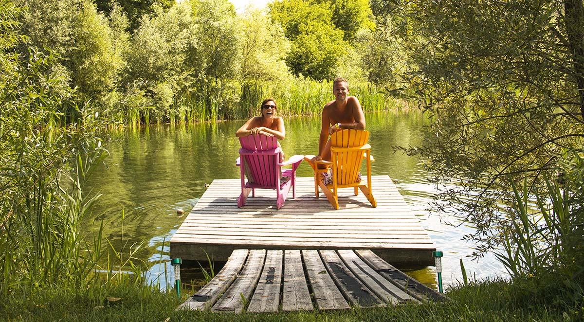 Domaine de la Quiquier Naturist B&B in France - Naked