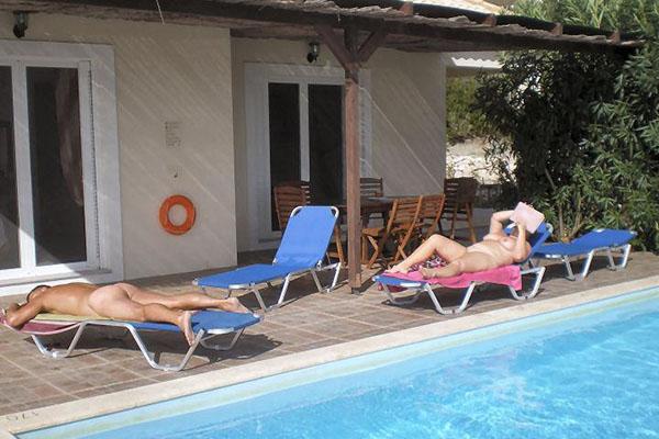 Naturism in Greece - 3 Naturist Villas - Villa Atraides