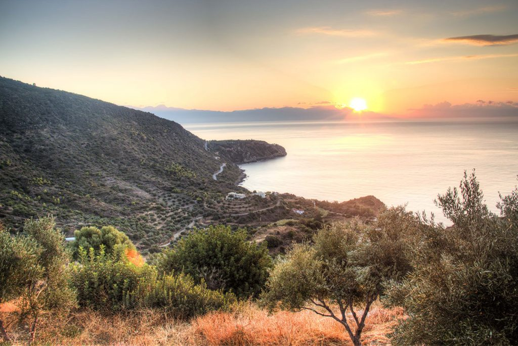 Naturism in Greece - Landscape