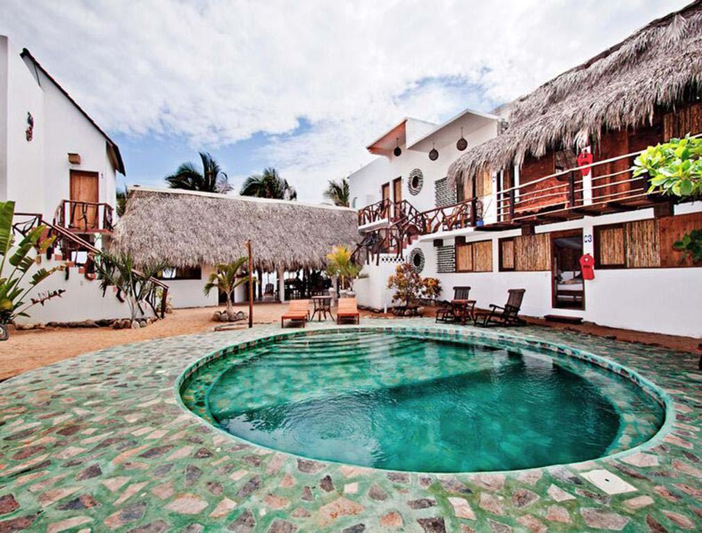 Nudist hotel Posada Buena Vida in Zipolite, Mexico