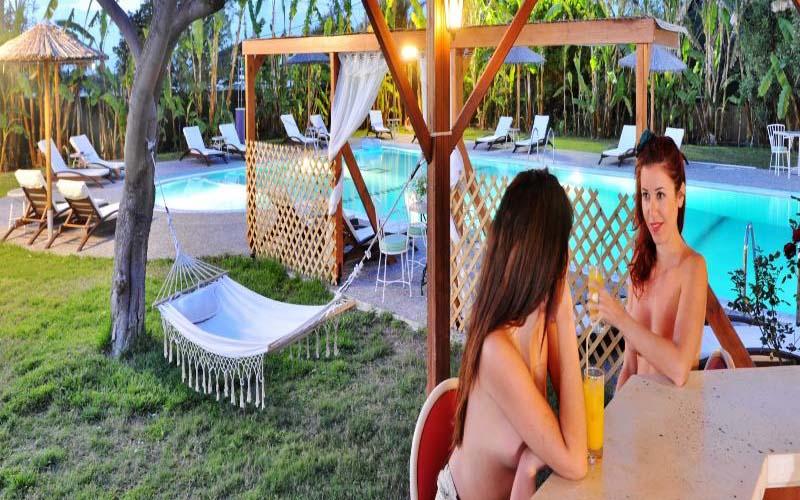 Naturist Angel Club on Rhodes, Greece