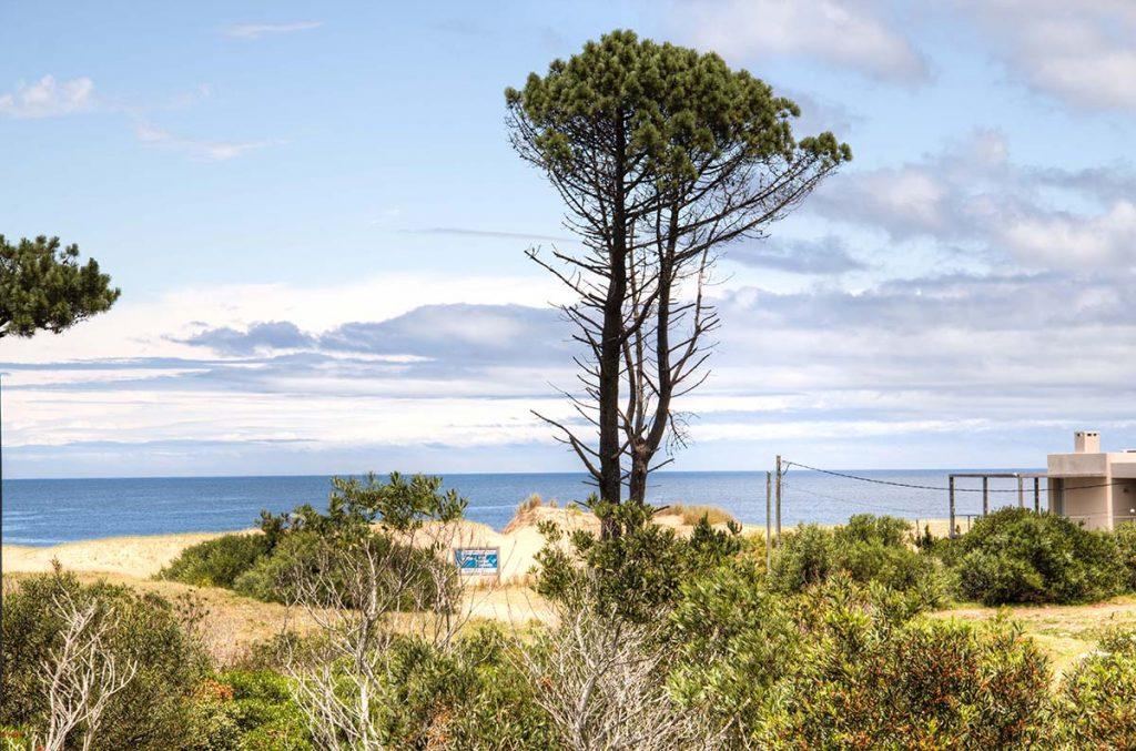 Naturist Hotel El Refugio at Playa Chihuahua beach near Punta del Este, Uruguay