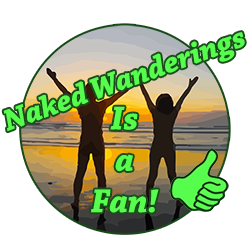 Naked Wanderings is a Fan!