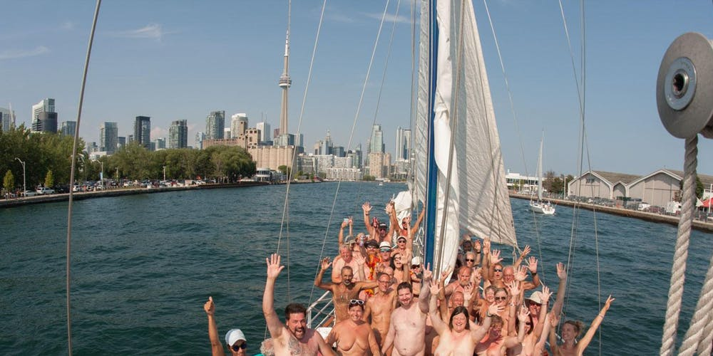 Nude cruise on Lake Ontario