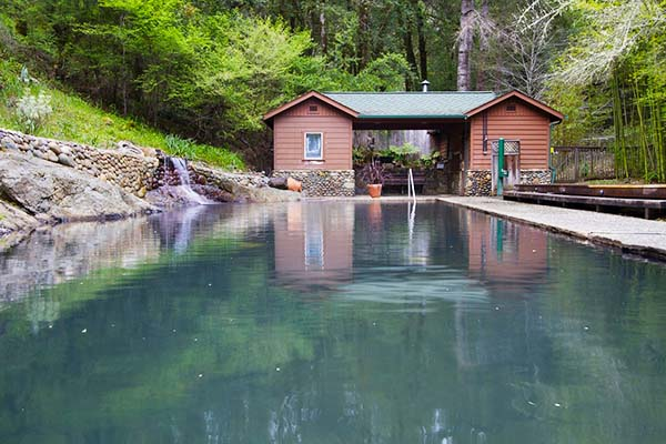 Orr Hot Springs (Ukiah) Mendocino