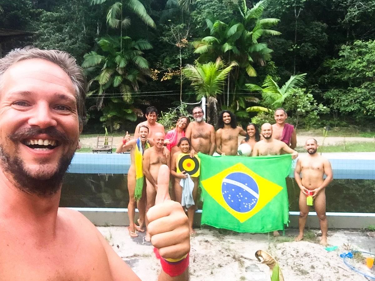 Naturist club GRAUNA in Brazil