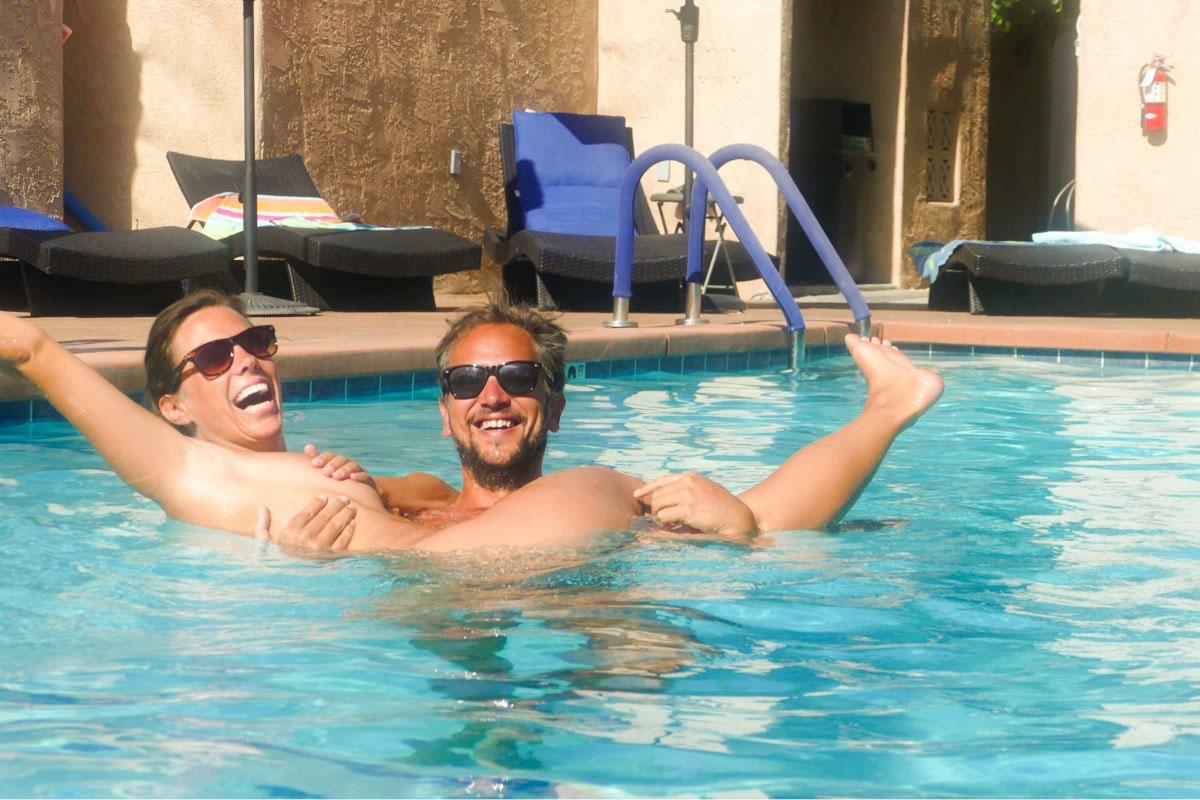 The Terra Cotta nudist resort in Palm Springs California