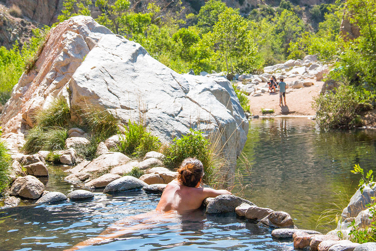 Clothing optional deep creek hot springs