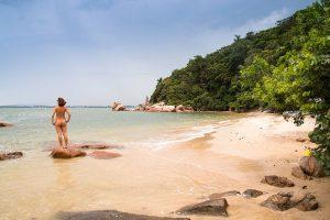 Pedras Altas nude beach in Brazil