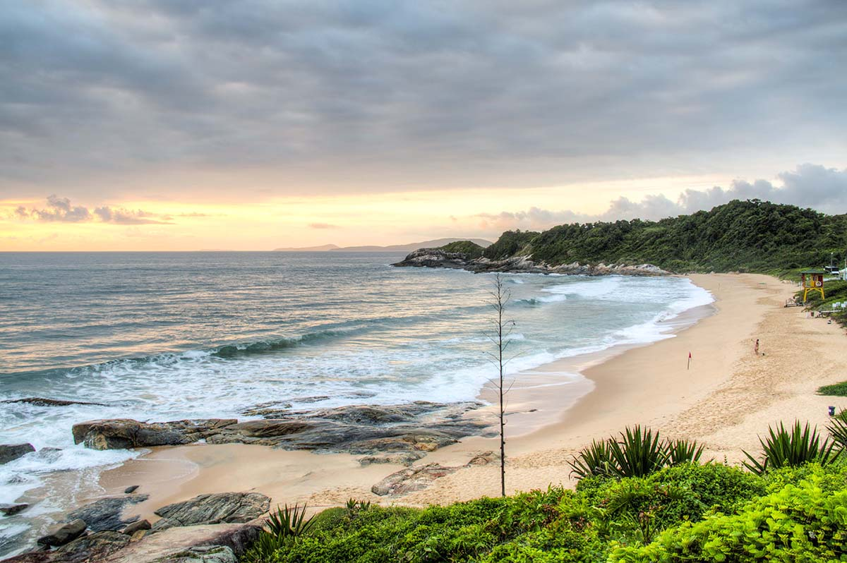Praia do Pinho nude beach in Brazil