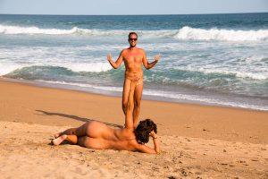 Playa nudista Zipolite, Mexico