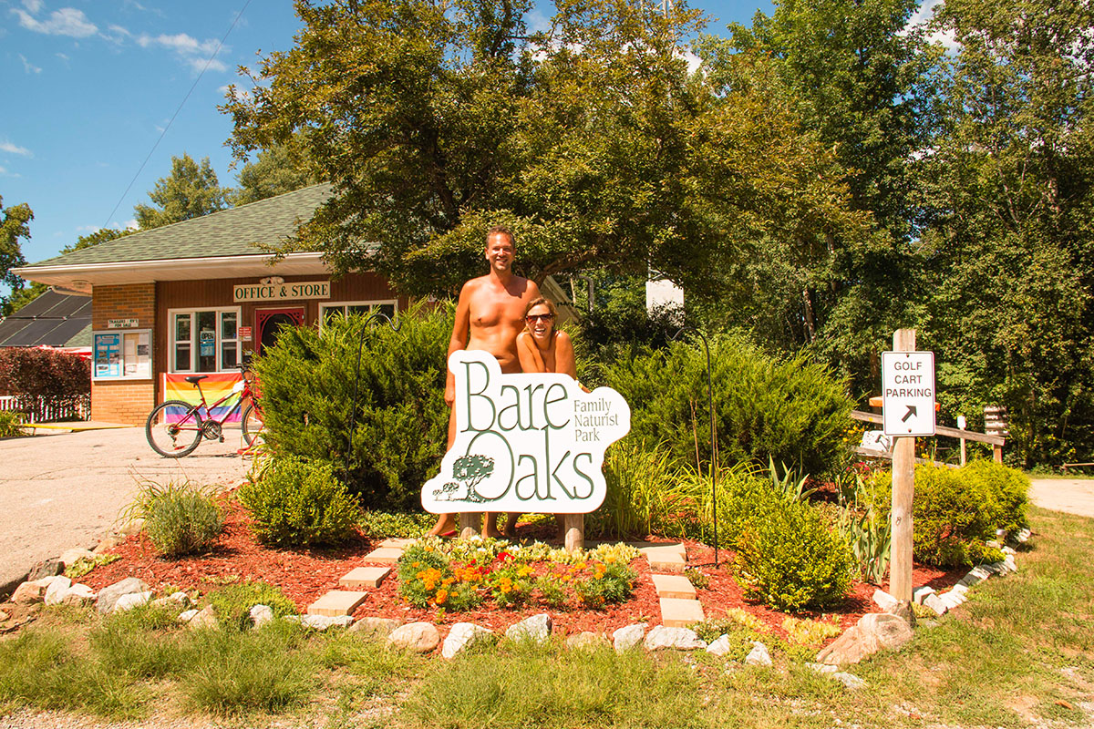 Naked Wanderings at Bare Oaks Family Naturist Park, Toronto
