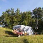 Sasso Corbo naturist camping in Tuscany, Italy