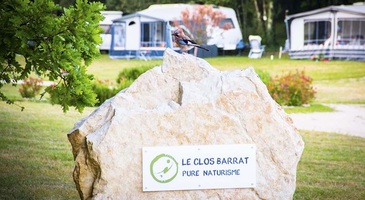 Le Clos Barrat naturist camping in Lot-et-Garonne, France