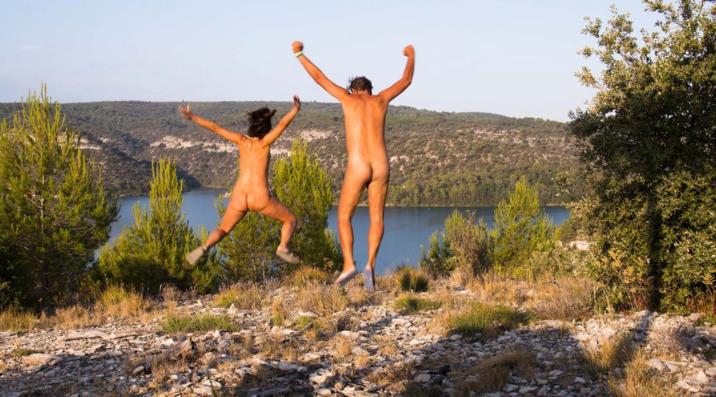 Why French Families go Massively for Naturism