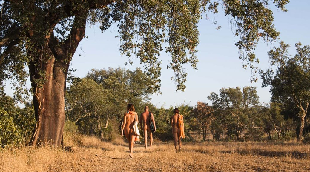 Monte Naturista O Barão in south Alentejo, Portugal