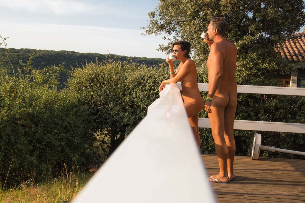 La Sablière naturist in France