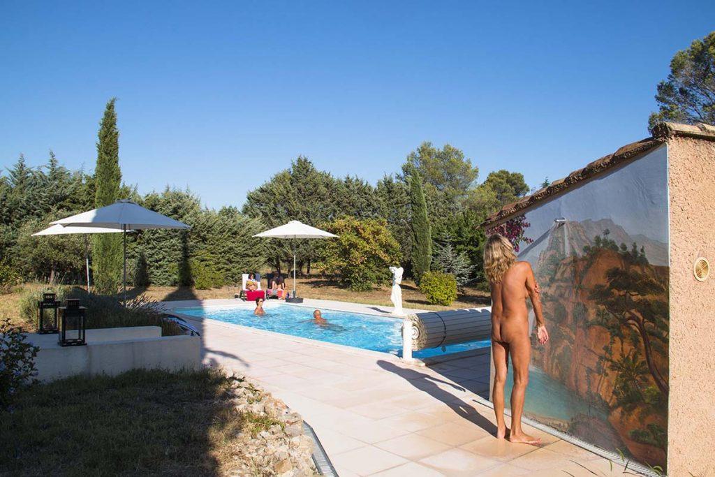 La Fenouillère naturist in France