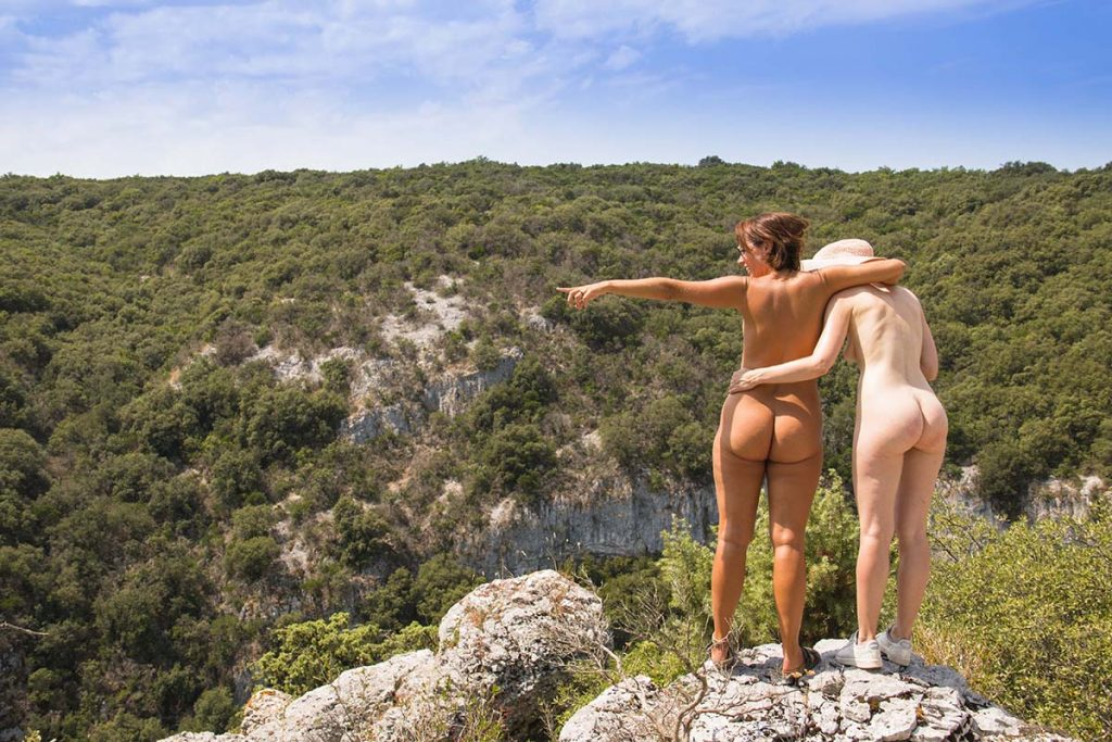 Domaine de la Quiquier naturiste in France
