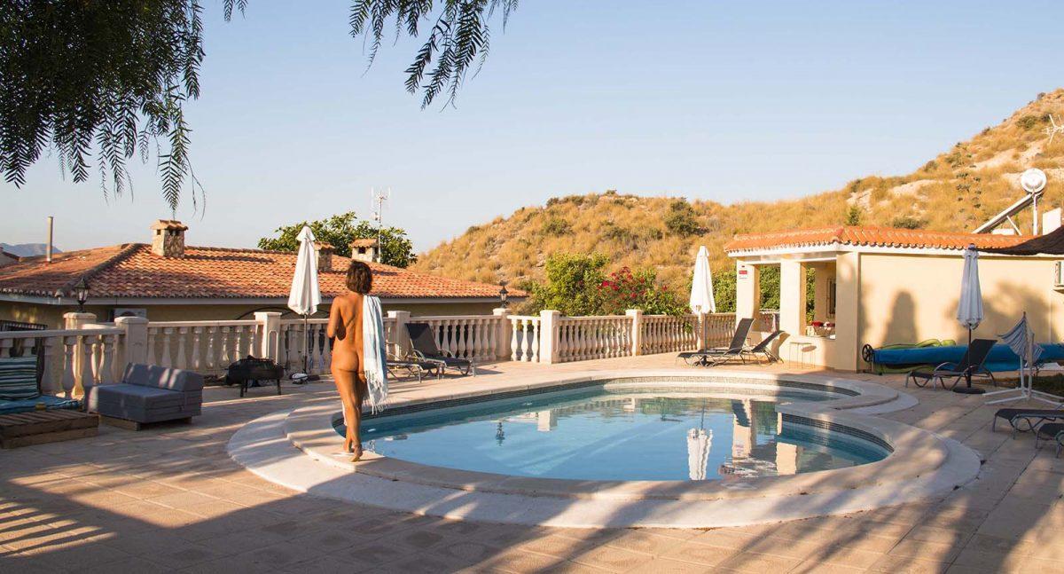 Lavinia Naturist Resort near Alicante, Spain