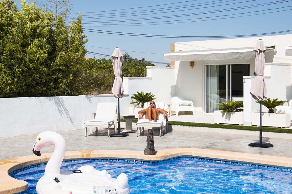 Finca Pura Clothing Optional Guestrooms near Alicante, Spain