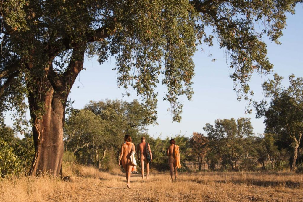 Nude Vacations in Portugal: Monte Naturista O Barão