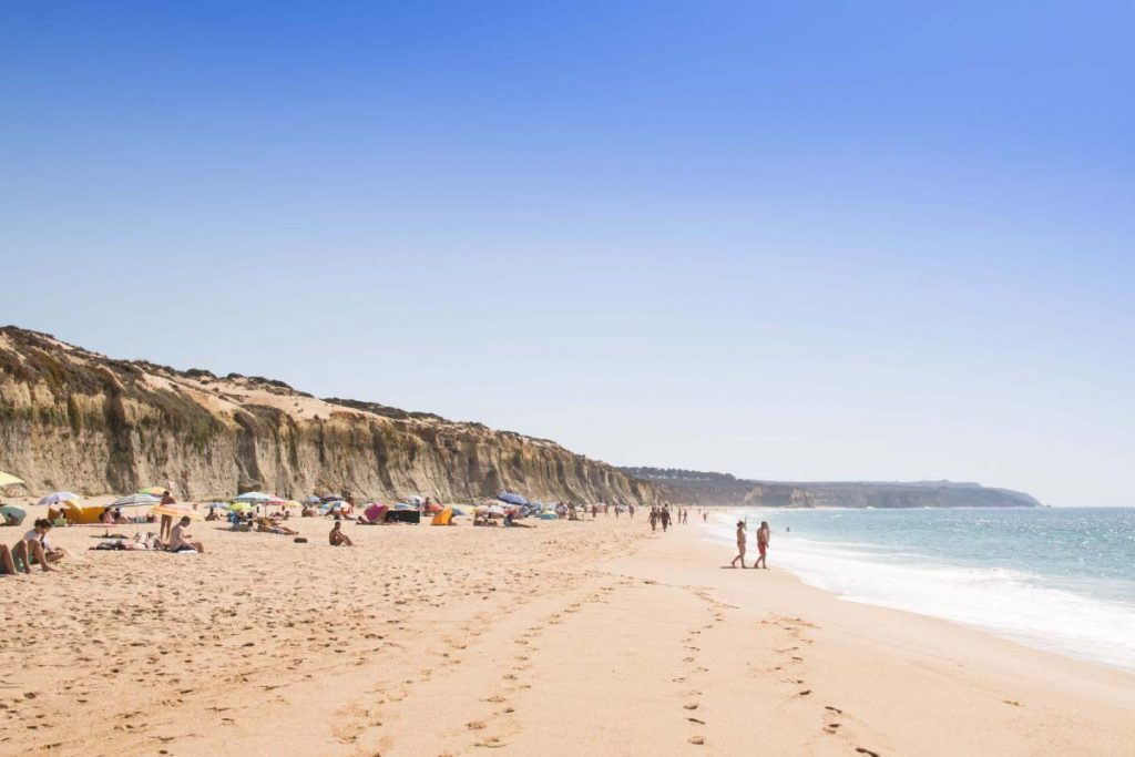 Nude Beaches around Lisbon: Praia do Meco