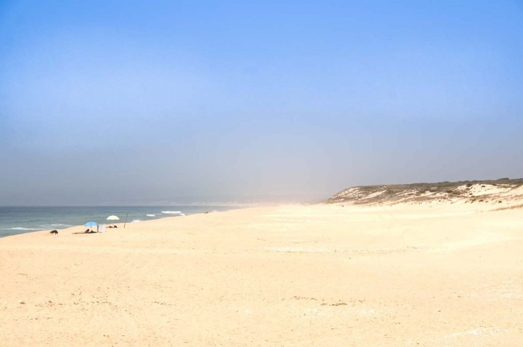 Nude Vacations in Portugal: Praia Monte Velho