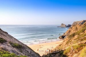 Nude Vacations in Portugal: Praia das Adegas