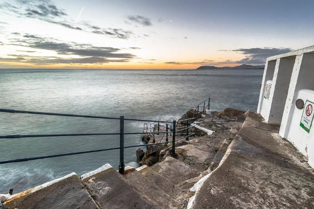 Hawk Cliff in Dalkey (Dublin), Ireland