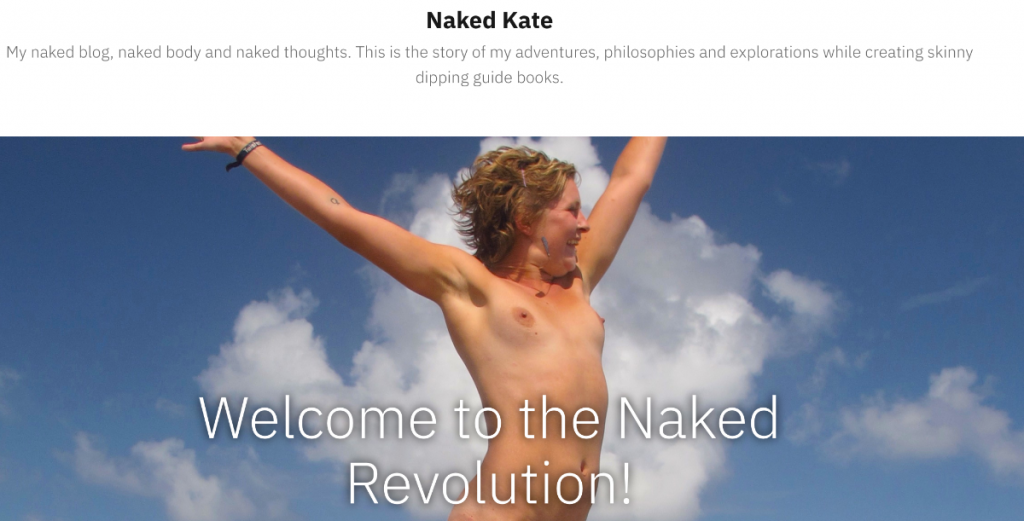 Nudist Blogs You Really want to Follow in 2020: Naked Kate