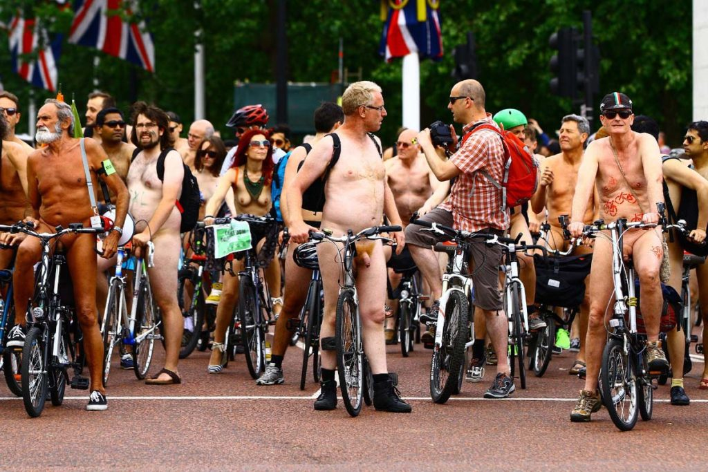 22 Amazing cities to join a World Naked Bike Ride in 2020